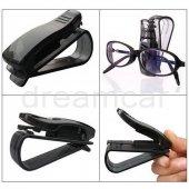 Dreamcar Slim Gözlük Tutucu Siyah Kırmızı 3300903