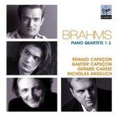 Renaud Capuçon & Gautıer C Brahms Pıano Quartet 1,2,