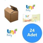 Uni Baby Yenidoğanlar İçin 24lü Islak Mendil 960 Yaprak