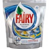 Fairy Platınum Hepsi 1 Arada Bulaşık Makinası Kapsülü 30 Yıkama