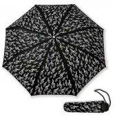Sol Anahtarlı Cep Şemsiye Siyah
