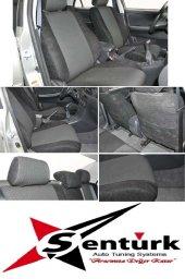 Citroen C3 Siyah Renk Araca Özel Oto Koltuk Kılıfı