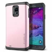 Verus Samsung Galaxy Note 4 Damda Veil Kılıf Baby Pink