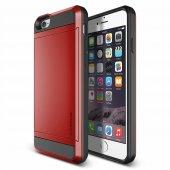 Verus İphone 6 6s 4.7 Damda Slide Kılıf Crimson Red