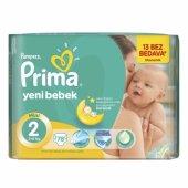 Prima Yeni Bebek 2 Beden Mini Mega Paket 78 Adet
