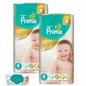 Prima Premium Care No 4 Bebek Bezi 2 Li Mega Paket 112 Adet 56 Lı Islak Havlu Hediyeli