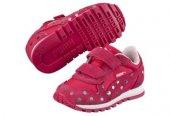 Puma St Runner Dotfetti V Kids Red Çocuk Spor Ayakkabısı