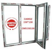 150x130 Pencere Camsız