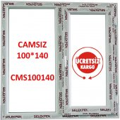 100x140 Pencere Camsız
