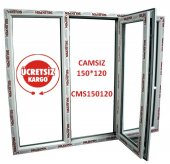 150x120 Pencere Camsız