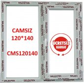 120x140 Pencere Camsız