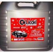 Licoil Antifriz Organik G12 Kırmızı Antifri 15 Kg Bdn(25 Derece)