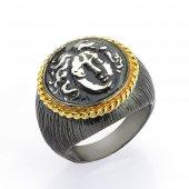 Gümüş Para Yüzük Romin 18