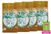 Alice İnce Ve Beyaz Taneli Topaklaşan Kedi Kumu 4x...