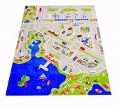 Ivi 134x180 Cm Mini City Çocuk Odası Oyun Halısı