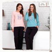 Bh2604 Baha Bayan 2 Li Pijama Takımı
