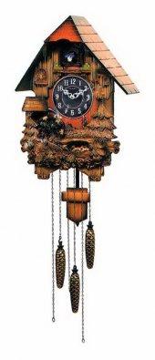 Regal Kw 908 Büyük Boy Ahşap Sarkaçlı Guguklu Duvar Saati