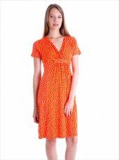 Ayyıldız 59479 V Yakalı Kısa Kollu Penye Elbise...