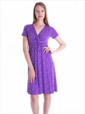 Ayyıldız 59479 V Yakalı Kısa Kollu Penye Elbise