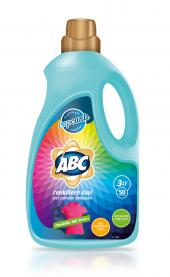 Abc Sıvı Çamaşır Deterjanı Renklilere Özel 3 Lt