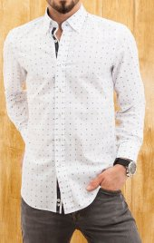 Comienzo Uzun Kollu Gömlek 100 Cotton 40605