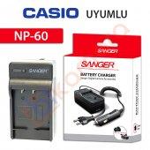 Casio Exilim Zoom Ex Z85 Şarj Cihazı Şarj Aleti