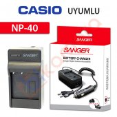 Casio Exilim Zoom Ex Z200 Şarj Cihazı Şarj Aleti