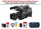Sony Hxr Mc2500 Işık Batarya Şarj Ve Çanta Hediyeli