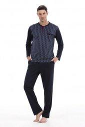 Pierre Cardin 5247 Uzun Kol Erkek Pijama