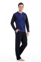 Pierre Cardin 5241 Uzun Kol Erkek Pijama Takımı