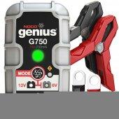 Noco Genius G750 6v 12v 30a Ultrasafe Akıllı Akü Şarj Ve Akü Bakı