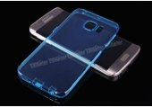 Samsung Galaxy S6 Edge Silikon Kılıf Mavi