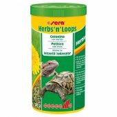 Sera Herbs N Loops Kaplumbağa Yemi 1000 Ml