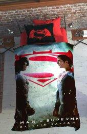 özdilek Batman V Superman Dark Nevresim Takımı Tek Kişilik