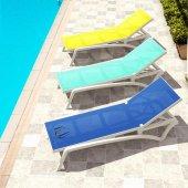 Siesta Pacific Şezlong Balkon Bahçe Havuz Mobilyası