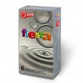 Fiesta Vibe Prezervatif Vibratör Etkili Halkalı