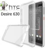 Htc Desire 630 Şeffaf Esnek Silikon Kılıf