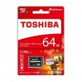 Toshiba 64gb Microsd 90mb Sn Uhs 1 U3 Exceria Thn M302r0640ea