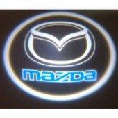 Mazda Araç Kapı Altı Led Hayalet Logo 2li
