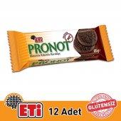 Eti Pronot Glutensiz Kakaolu Kurabiye 85g 12 Adet