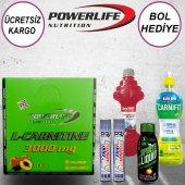 Powerlife L Carnitine 3000mg 20 Ampul Şeftali