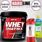 Hardlıne Whey 3 Matrix 4000 Gr Protein Tozu