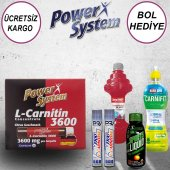 Power System L Carnitine 3600 20 Ampül Sıvı