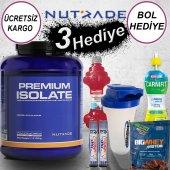 Nutrade Premium Isolate Protein Tozu 2100 Gr (3 Hediye)