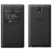 Samsung Galaxy Note 3 S View Cover Siyah