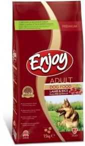 Enjoy Kuzu Etli Köpek Maması 15 Kg
