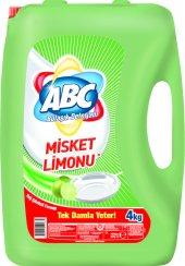 Abc Bulaşık Deterjanı Misket Limonu 4 Kg
