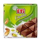 Eti Bütün Antep Fıstıklı Çikolata Tablet 75 Gr