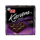 Eti Karam Bitter 70 Kakaolu Yoğun Bitter Tablet Çikolata 75 G