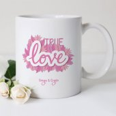 Kişiye Özel Beyaz Kupa Bardak (Sevgililer Günü Temalı 47)